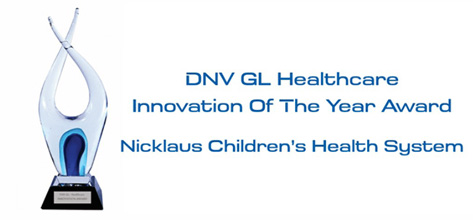 Hospital Wins DNV GL Healthcare Innovation of the Year Award